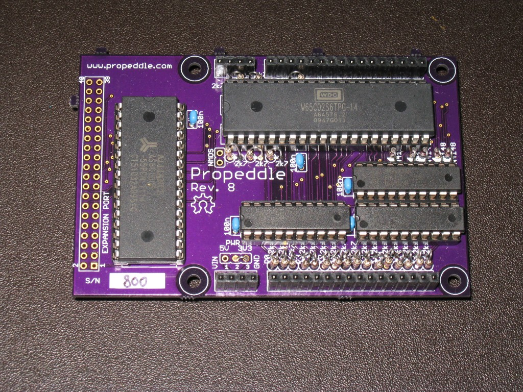 Propeddle Rev8 S/N 800