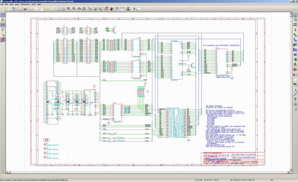 Propeddle kicad schematic
